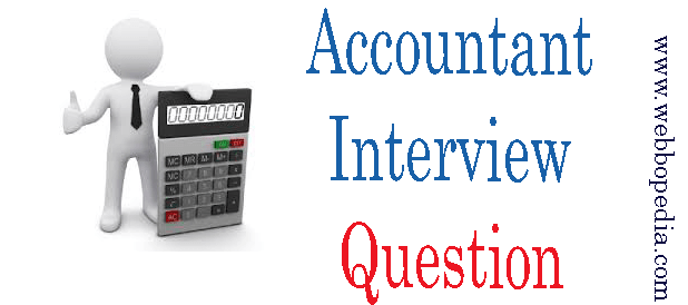 Accountant Interview Question