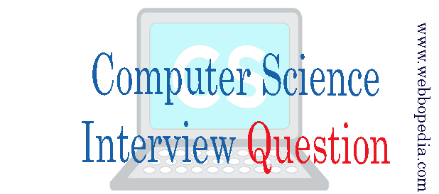 Computer Science Interview Question