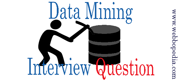 Data Mining Interview Question