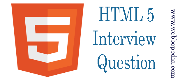 HTML5 Interview Question
