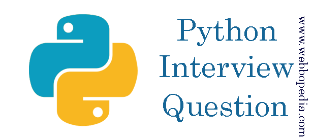 Python Interview Question